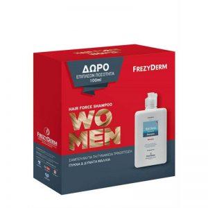 Frezyderm hair force women shampoo 200ml